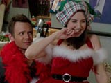 Community S03E10 Regional Holiday Music Joel McHale Alison Brie